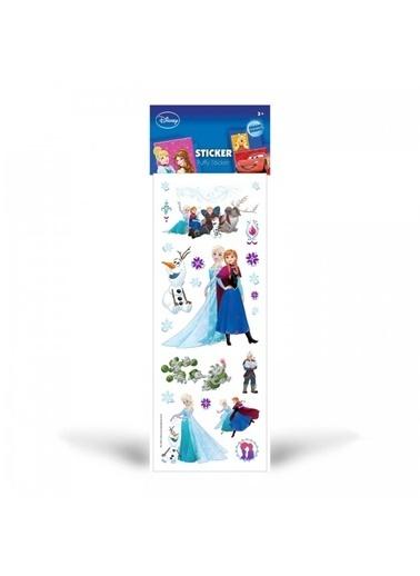 Disney Frozen Puffy Sticker 6,5x17 cm Renkli